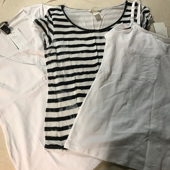 0c805464211 H&M Tops   Bundle Hm Maternity Shirts   Poshmark